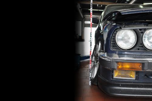 BMW E30 Schaden